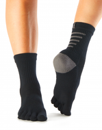 Socks - Five Toe Running or Walking Sock - No grip