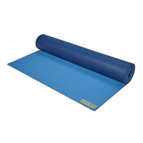 Jade Yoga Mat - Harmony 5mm - Two Tone Blue - SKULPT Dublin