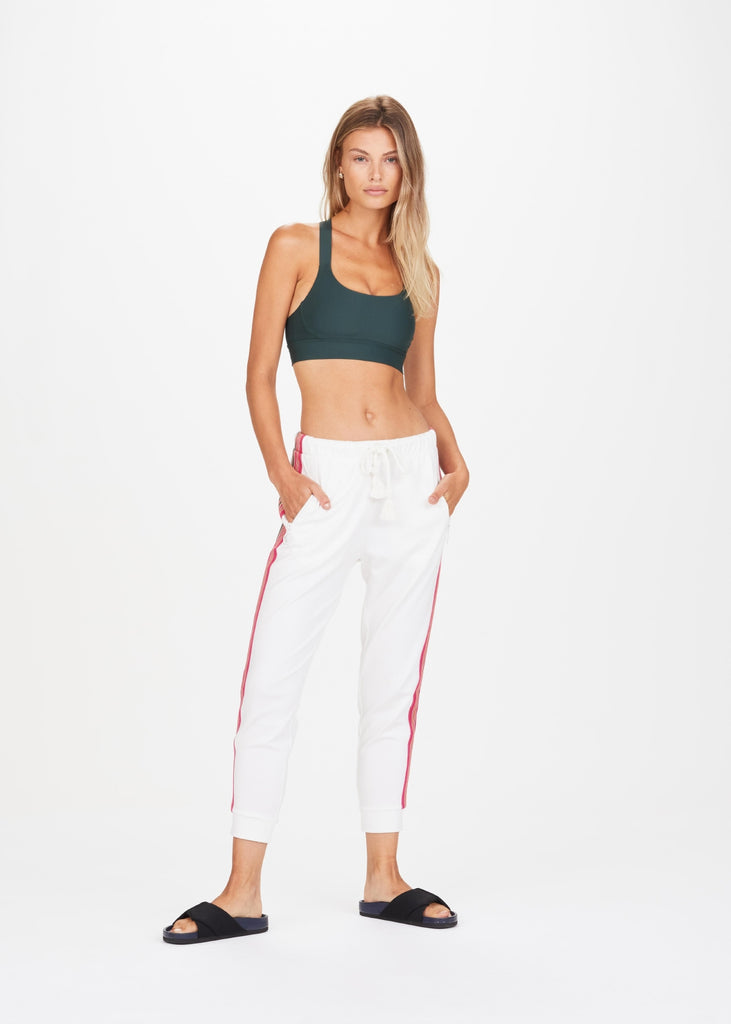 The Upside Sania Trackpants - White - SKULPT Dublin