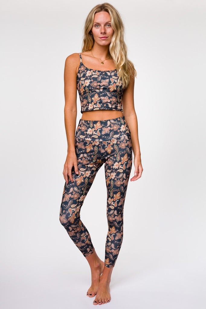 Onzie Crop Top Bra - Belle Flower - SKULPT Dublin