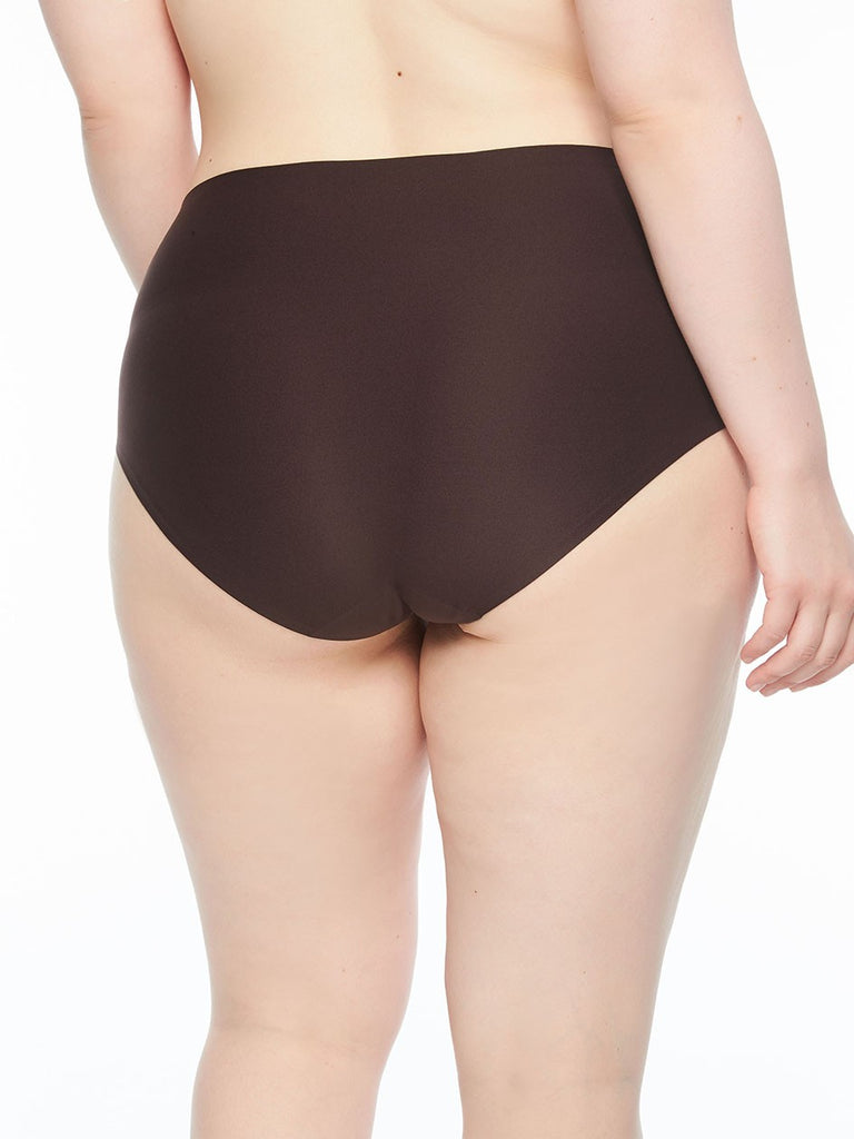 Seamless Underwear Soft Stretch - Plus Size Full Brief Black - by Chantelle - SKULPT Dublin