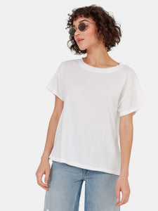 MATE Double Crew Neck Tee True White