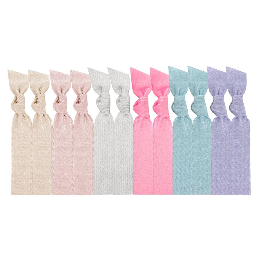 Emi Jay - Cotton Candy - 8 Hair Ties - SKULPT Dublin