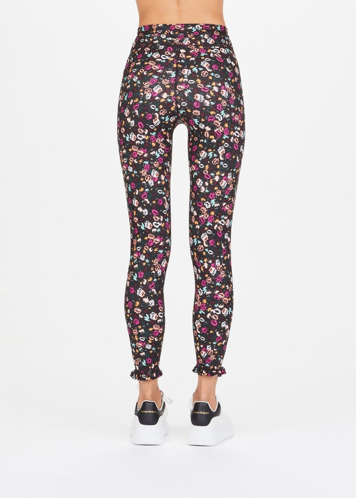 The Upside Gardenia Floral Midi Leggings - SKULPT Dublin