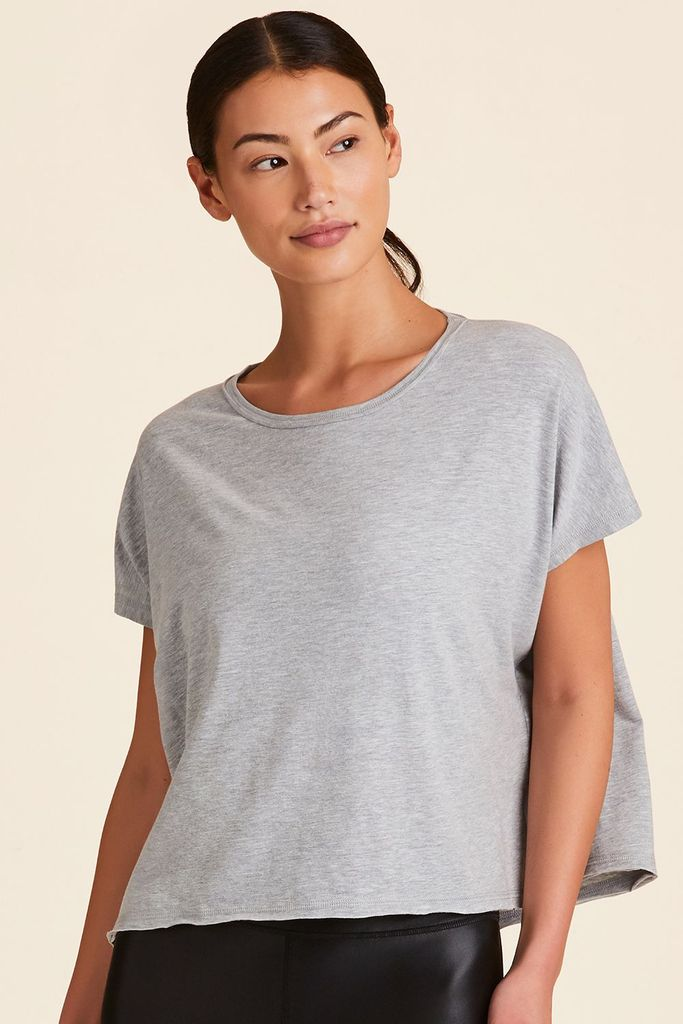 Alala Breakers Short Sleeved Tee - Grey - SKULPT Dublin