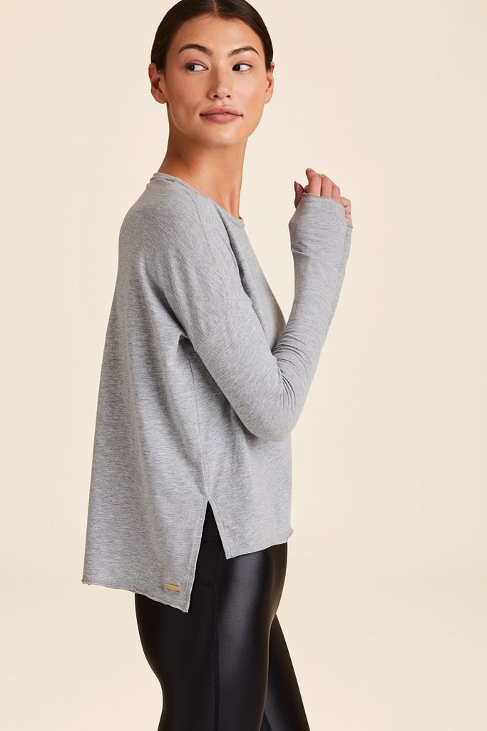 Alala Breakers Long Sleeved Tee - Grey - SKULPT Dublin