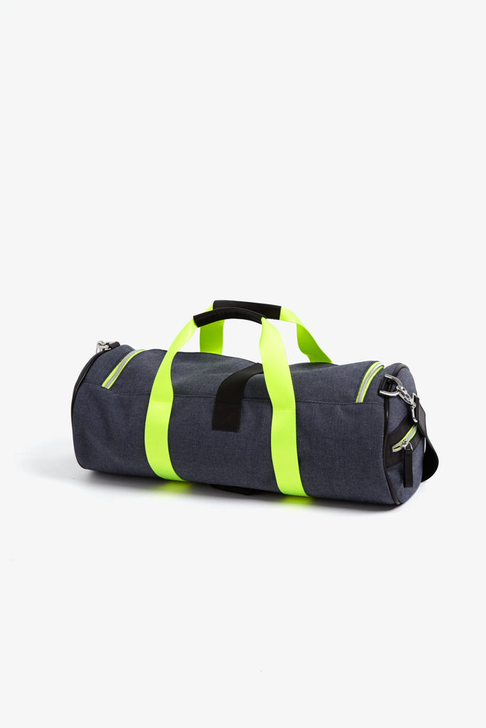Monreal London Warrior Bag - Denim & Neon - SKULPT Dublin