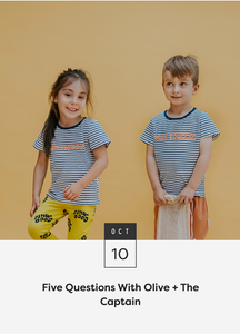 Finders Keepers Feature — Five Questions With Olive + The Captain