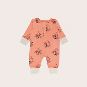 Wildflowers Rib Long Sleeve Romper