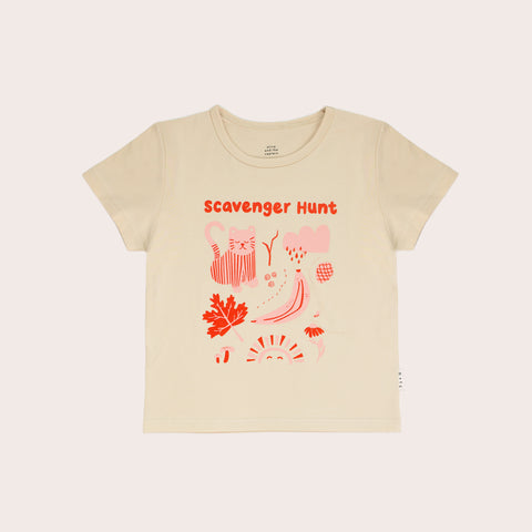 Scavenger Hunt Tee – Red