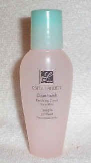 Estee Lauder Clean Finish Purifying Toner 1 oz Normal to Dry Skin(Travel Size)