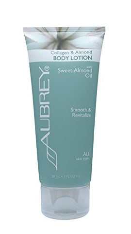 Aubrey Organics Collagen & Almond Body Lotion - 3oz