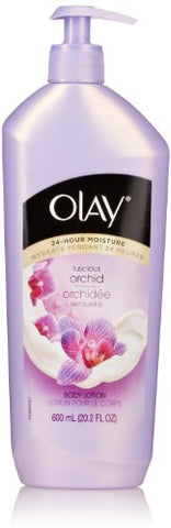 Olay Body Lotion Pump, Luscious Orchid, 20.2 Oz (Packaging May Vary)