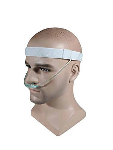 Cannula Comfort Headband by PumpCases (Medium (24 ), White)
