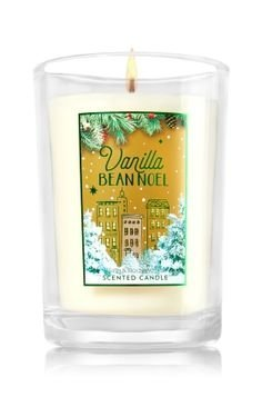 Bath and Body Works Vanilla Bean Noel Scented Candle 6.3 Oz