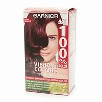 Garnier 100% Color Vitamin-Enriched Gel Crme, 460 Deep Auburn