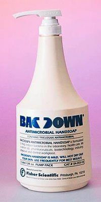 435550 PT# 435550- Soap Hand Bacdown 500mL Antimicrobial Liquid Bottle Ea by, Fisher Scientific Co.