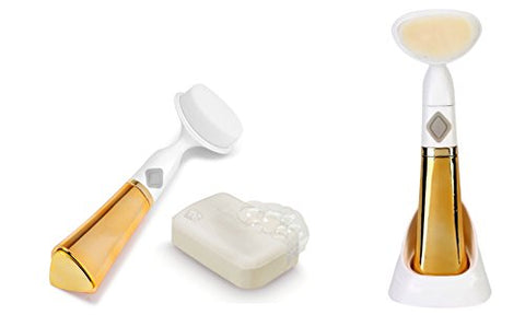 OraCorp Sonic Gold Electric Facial Pore Cleansing Brush