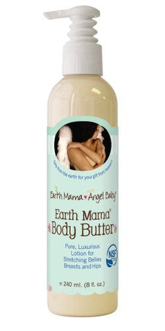 Earth Mama Angel Baby Earth Mama Body Butter 8 oz