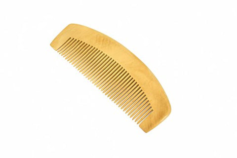 Wooden Comb Medium Tooth Comb Handmade Peachwood Comb - WC007