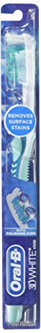 Oral B Advantage 3D White Vivid Toothbrush, Soft