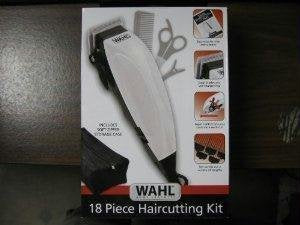 Wahl 9305-1201 Haircutting Kit 18 piece with Case
