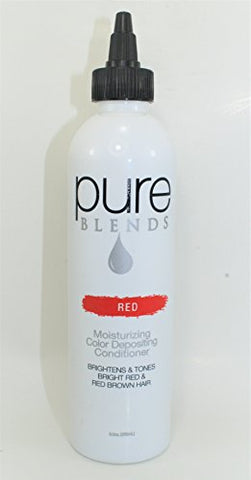 Pure Blends Red Moisturizing Color Depositing Conditioner, 8.5 oz