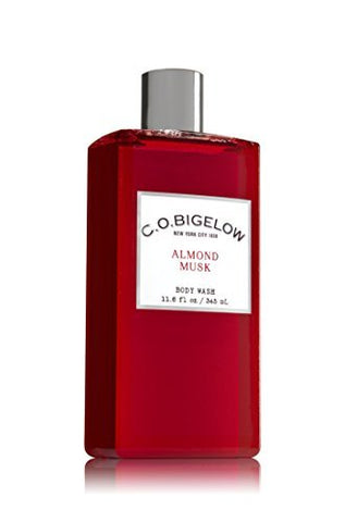 C.O. Bigelow Almond Musk Body Wash 11.6 Oz.