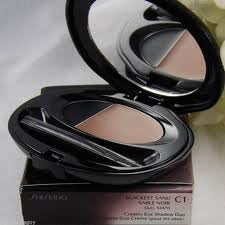 Shiseido The Makep Creamy Eyeshadow Duo - C1 Blackest sand