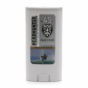Head Hunter SPF 45 Light Brown Face Stick