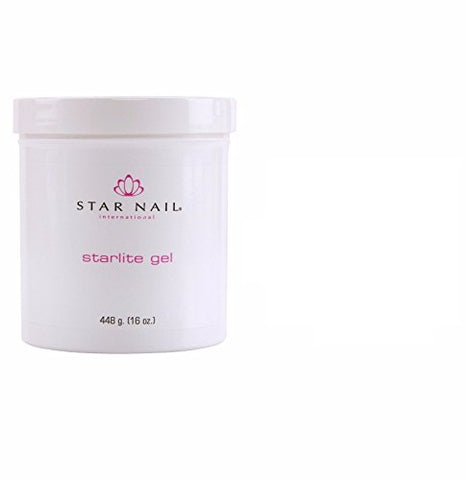 ALL SEASON Star Nail STARLITE Gel THICK CLEAR 16oz (448g) by All Season