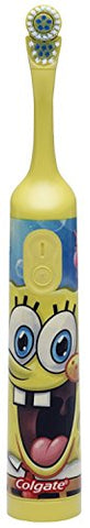 Colgate Nickelodeon SpongeBob SquarePants Extra Soft Powered Toothbrush, 1 CT