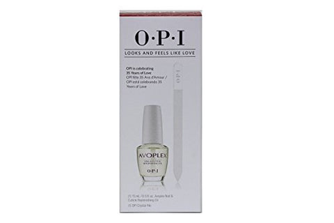 Avoplex Nail & Cuticle Replenishing Oil - 1 Bottle .5oz + 1 Crystal File