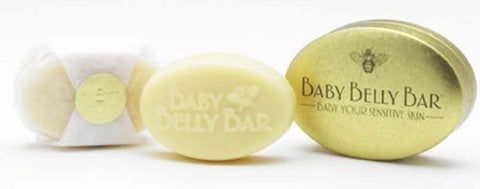 100% Natural Baby Belly Bar - Baby Your Sensitive Skin - For Expecting Mothers 1.7 Oz Size