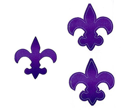 Fleur De Lis Tanning Stickers Roll Of 1000