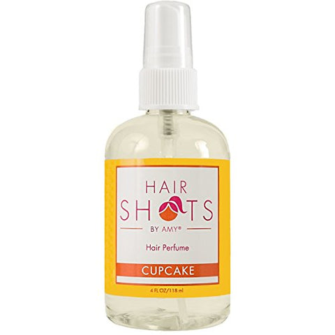 Hair Shots Cupcake Perfume Quality Heat Activated 4 oz Hair Fragrance
