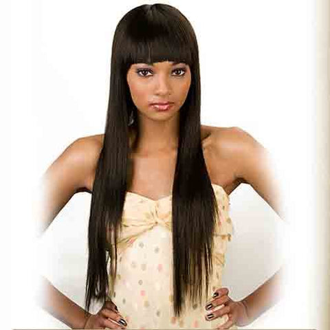 JUNEE FASHION Synthetic Wig - VALENTINE (#1 - Jet Black)