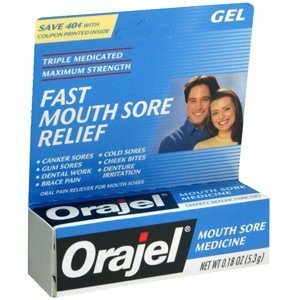 Special Sale ORAJEL DRY MOUTH AID 7115 3/16 oz