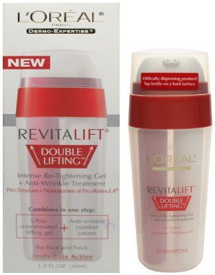 L'Oreal Dermo-Expertise Revitalift Double Lifting Intense Re-Tightening Gel + Anti-Wrinkle Treatment - 1.0 fl oz (30ml)