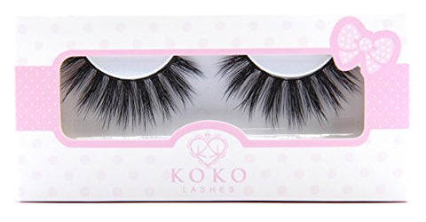 KoKo Lashes VENUS Wispy Glamour Fake Eyelashes (New Original)