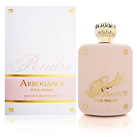 Arrogance Poudre Pour Femme by Schiapparelli Pinkenz for Women 2.5 oz Eau de Toilette Spray
