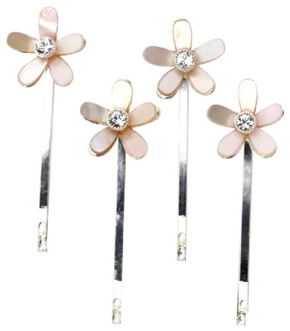 Jolee's Boutique Wedding Hair Pins Mother Of Pearls Crystal