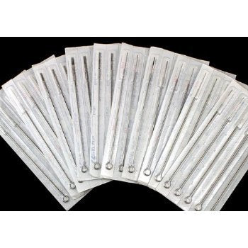 #10 Bugpin 3 Round Liner Tattoo Needles -