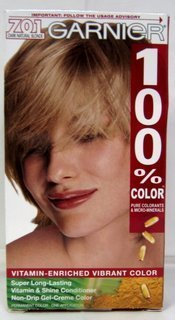 Garnier 100% Hair Color # 701 Dark Natural Blonde