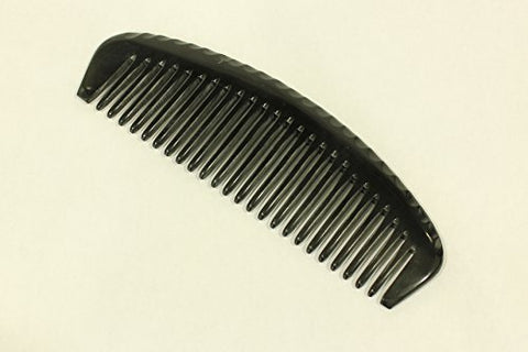 Wide Tooth Comb Handmade Large Buffalo Horn Comb - HC001