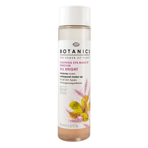 Boots Botanics All Bright Soothing Eye Make-up Remover 5 fl oz (150 ml)