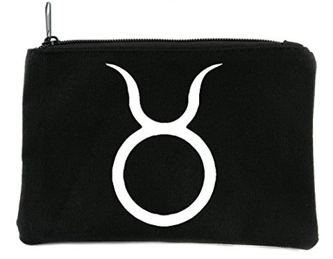Zodiac Taurus Sign Cosmetic Makeup Bag Astrology Horoscope The Bull