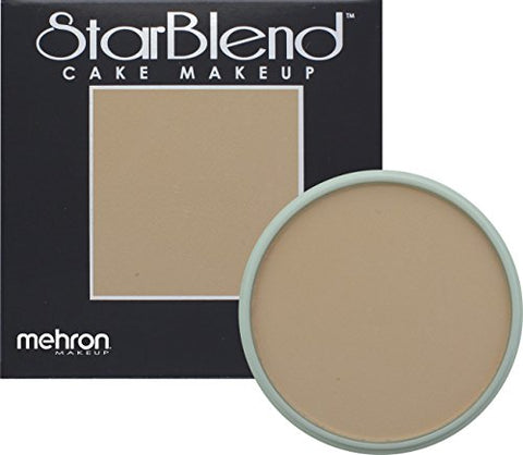 Mehron Makeup StarBlend Cake - SOFT PEACH - 2OZ