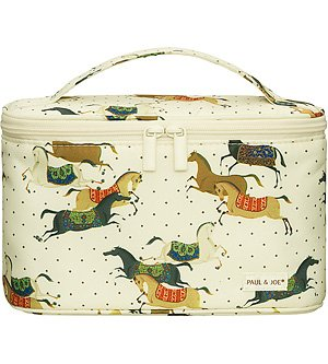 Paul & Joe Beaute Cosmetic Pouch IV Frolicking Horses