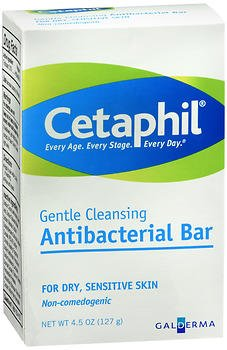 Cetaphil Gentle Cleansing Bar - 4.5 oz